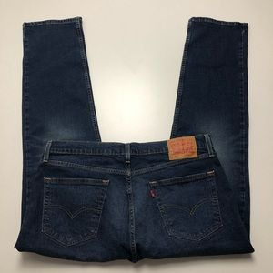 Levi's 511 Dark Wash Jeans Slim Straight Size 36